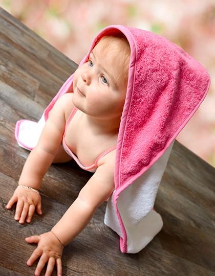 Baby Kaputzenhandtuch bunt